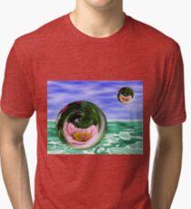 Flower Bubbles Tri-blend T-Shirt