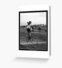 Three Peaks Cyclocross 2011 Greeting Card