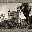 Brighton Pavillion B&W by inglesina