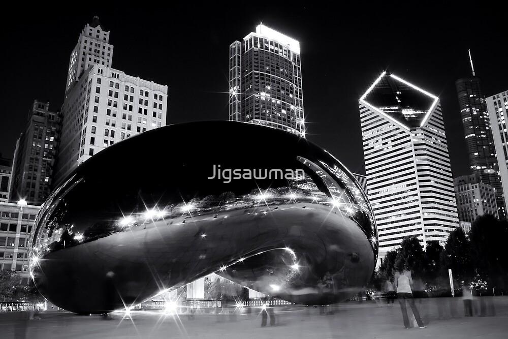Cloud Gate by Jigsawman