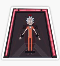 Rick and Morty-- Jailed Rick Sticker