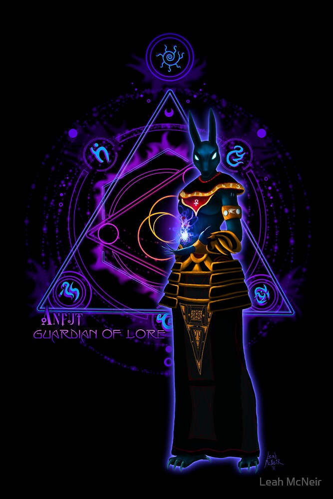 ☼ ☥ Anput, Guardian of Lore ☥ ☾ by Leah McNeir