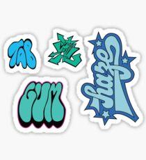 Jet Set Radio Graffiti Sticker sheet Sticker