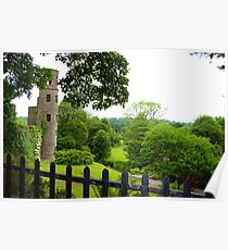Blarney Castle - Blarney, Ireland  Poster