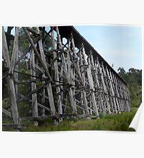 Stony Creek Trestle Bridge Poster