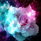 Bursting with Stars Rose  by Mechelep
