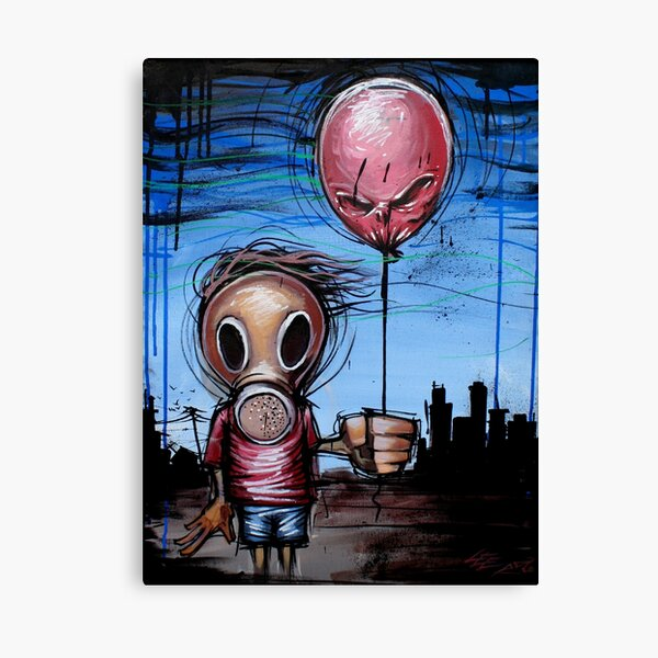 Toxic Kid Urban Art Apocalypse Survival Pop Art Canvas Print