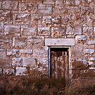 Stone wall & door by KDPhotos