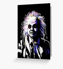Say my name!...Bettlejuice Greeting Card