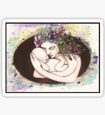 A mothers love Sticker