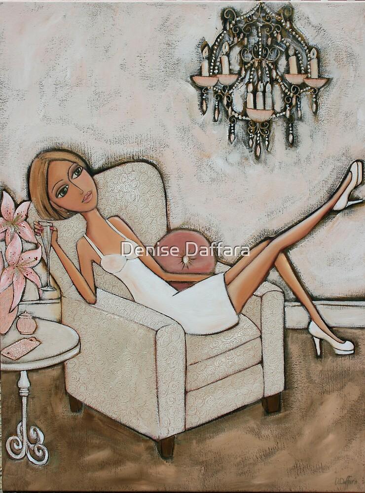 Pink Lily by Denise Daffara