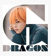 BIGBANG G-DRAGON MADE Series Typography Photographic Print