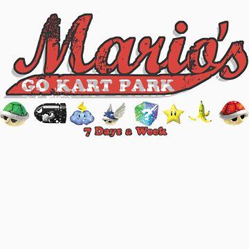 Mario's Go Kart Park by KruithofDesigns