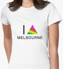 I TRIANGLE MELBOURNE Women's Fitted T-Shirt