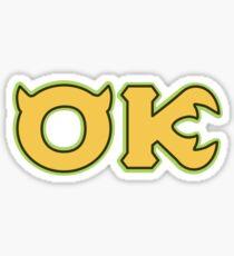 Pledge Oozma Kappa Sticker