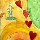 I heart yoga by Phool  Powa