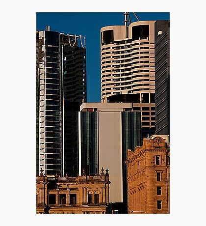 Brisbane City Buildings Photographic Print
