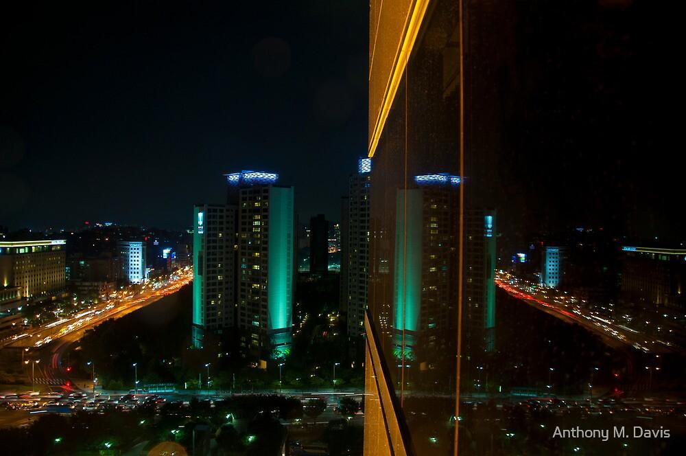 Seoul Reflection by Anthony M. Davis