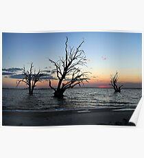 Sunset at Lake Bonny Poster