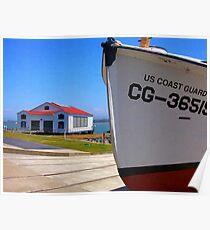 Coast Guard Station Poster