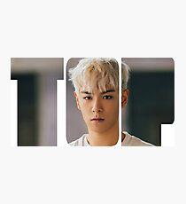 BIGBANG T.O.P MADE Series Typography Photographic Print