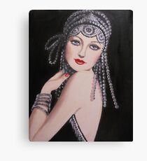 ROARING 20'S LADY Canvas Print