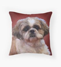 Shih Tzu Dog Throw Pillow