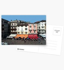 """Shops - Lugano, Switzerland"" Postcards"