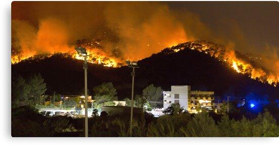 Ibiza Burning by Tom Gomez