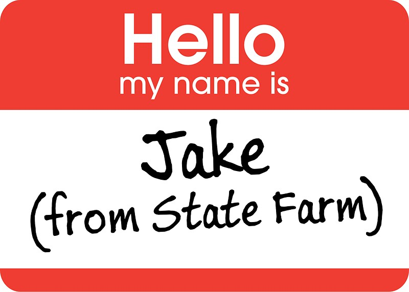 Quot Jake From State Farm Quot Stickers By Marc Bublitz Redbubble