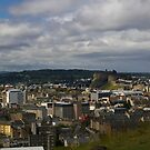 Castle from the Crags by Susan Dailey