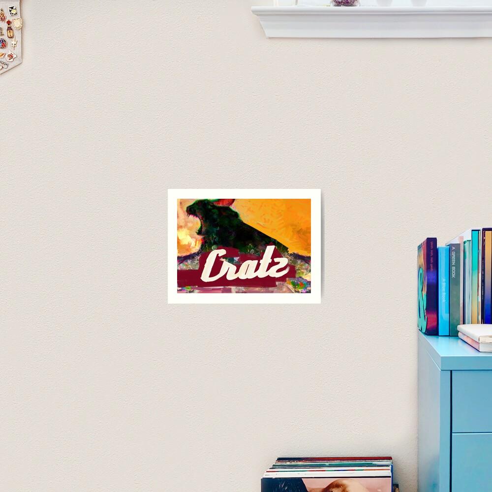 Cratz Art Print