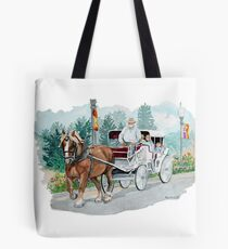 Horse & Buggy Tote Bag