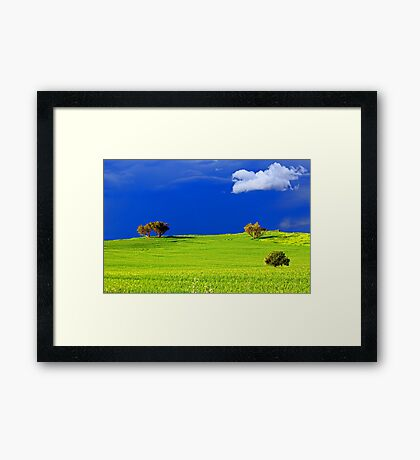 Green Acres  Framed Print