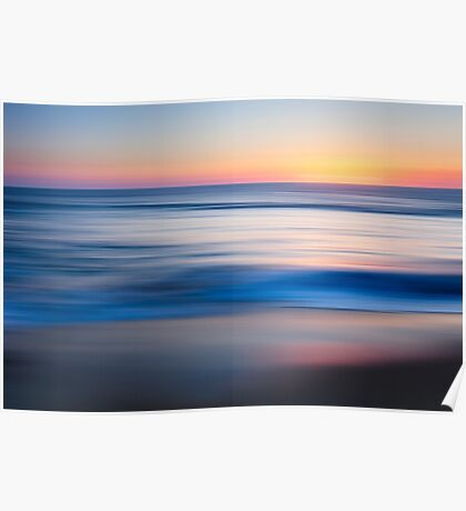 Sunset Baja Poster