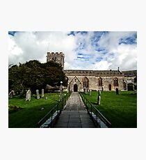 Uplyme Village Church. Devon UK Photographic Print