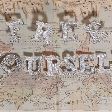 Free Yourself old map Series by dreamphotos