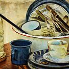 Old Time Cups and Dishes by vigor