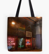 World Famous Billy Goat Tavern, Chicago Tote Bag