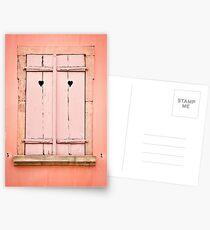 Beautiful Window 6 Postcards