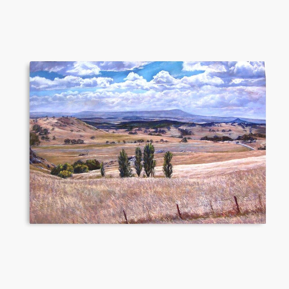 'High Camp Landscape'  Canvas Print