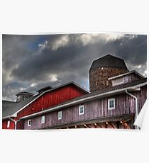Indiana Barn Poster