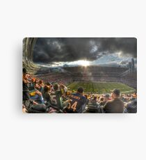 Bears vs. Packers: Rivalry in the Stands Metal Print