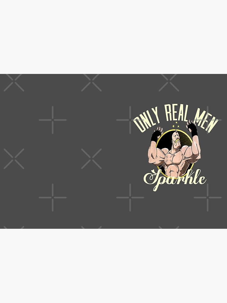 Only real men sparkle  by kurticide