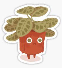 Traurige Pflanze Sticker
