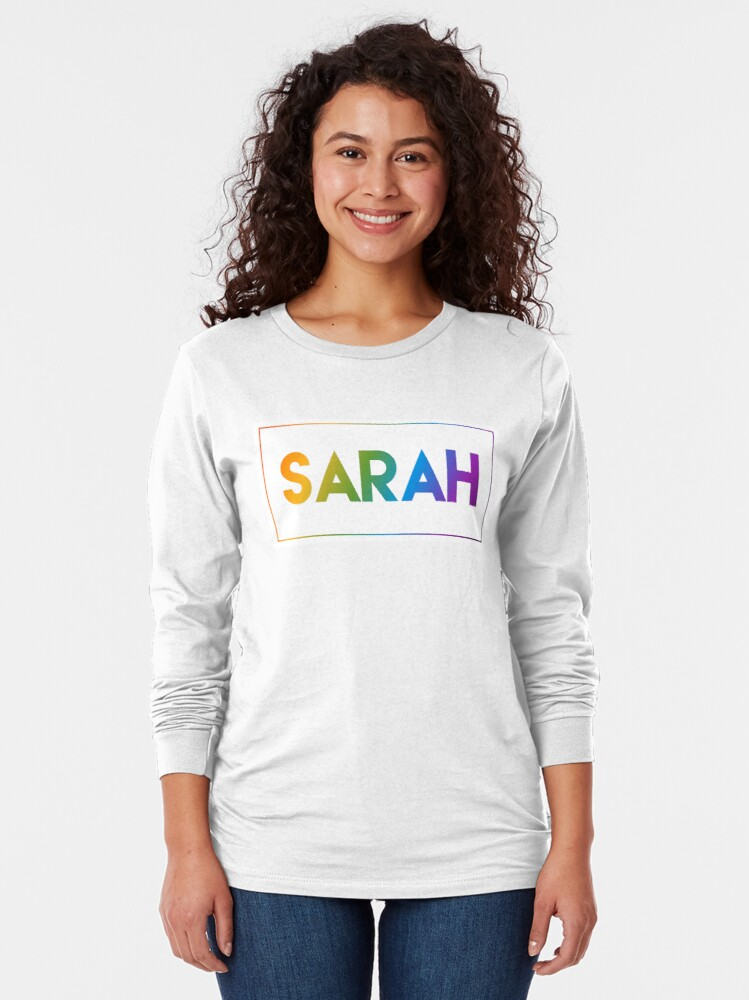 Alternate view of Sarah - Pride Edition Long Sleeve T-Shirt