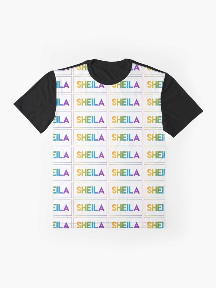 Alternate view of Sheila - Pride Edition Graphic T-Shirt