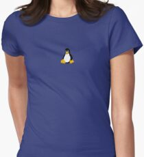 Tux the Penguin Women's Fitted T-Shirt