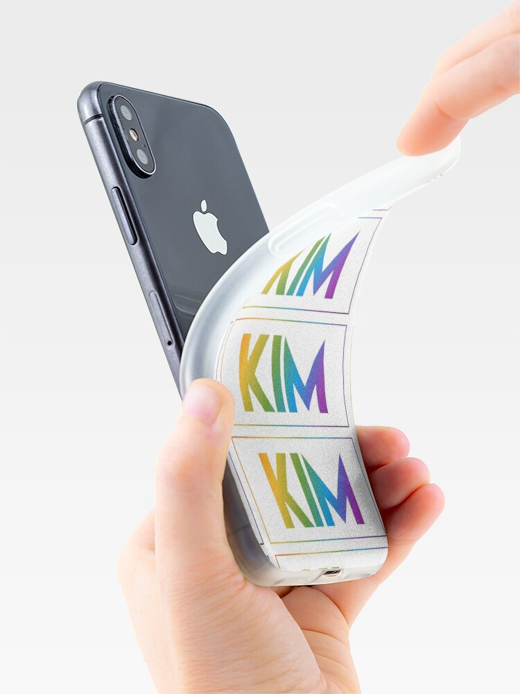 Alternate view of Kim - Pride Edition iPhone Case & Cover