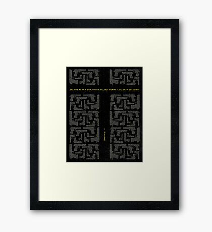 Word: 1 Peter Framed Print